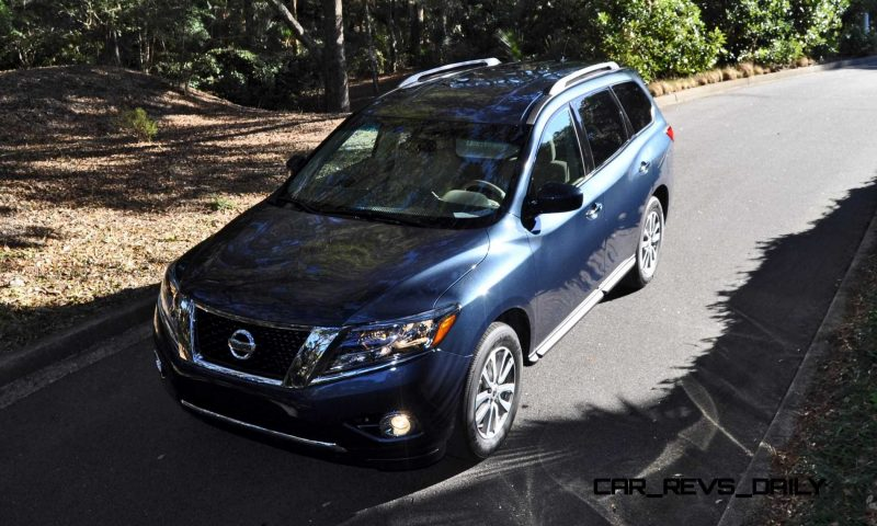 Road Test Review - 2015 Nissan Pathfinder SV 4WD 144