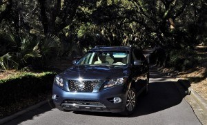 Road Test Review - 2015 Nissan Pathfinder SV 4WD 147