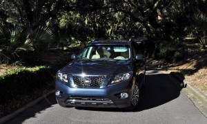 Road Test Review - 2015 Nissan Pathfinder SV 4WD 148