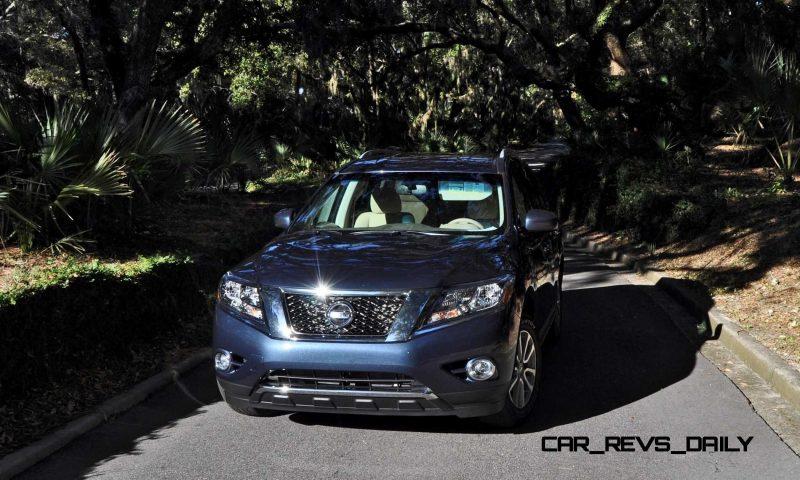 Road Test Review - 2015 Nissan Pathfinder SV 4WD 148