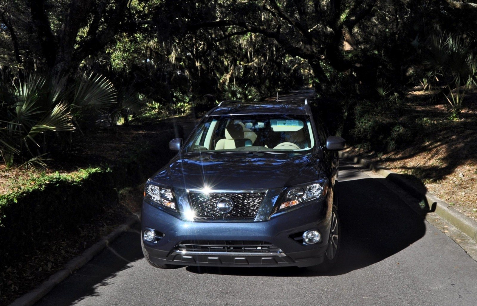 Road Test Review - 2015 Nissan Pathfinder SV 4WD 149