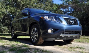 Road Test Review - 2015 Nissan Pathfinder SV 4WD 15
