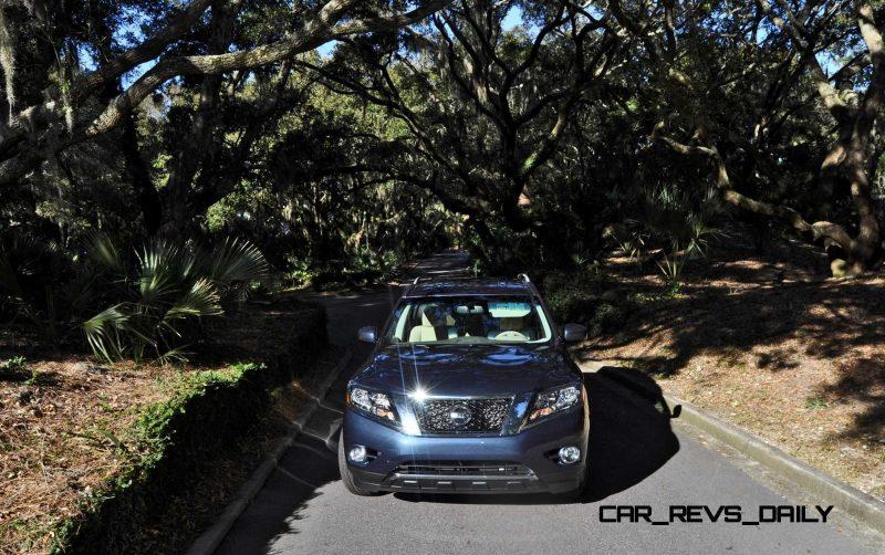 Road Test Review - 2015 Nissan Pathfinder SV 4WD 151