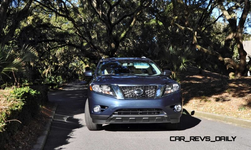 Road Test Review - 2015 Nissan Pathfinder SV 4WD 156