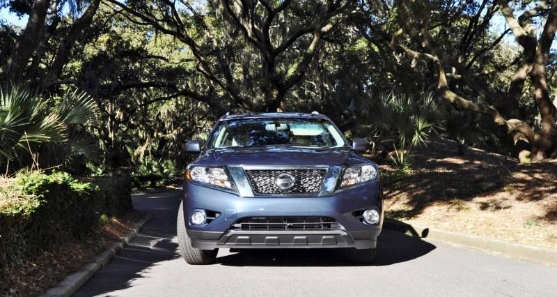 Road Test Review - 2015 Nissan Pathfinder SV 4WD 157