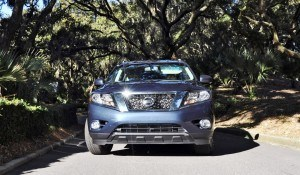 Road Test Review - 2015 Nissan Pathfinder SV 4WD 158