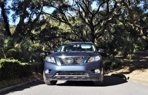 Road Test Review - 2015 Nissan Pathfinder SV 4WD 159