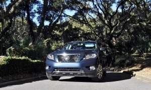 Road Test Review - 2015 Nissan Pathfinder SV 4WD 160
