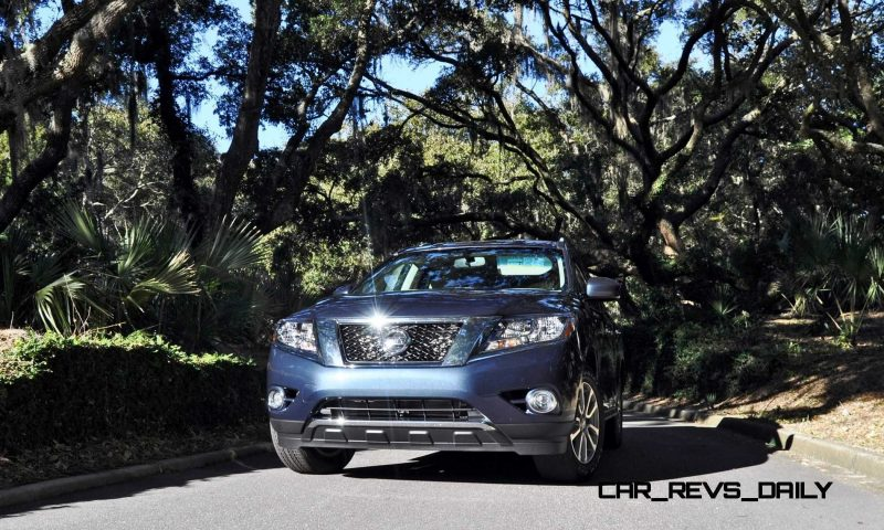 Road Test Review - 2015 Nissan Pathfinder SV 4WD 160