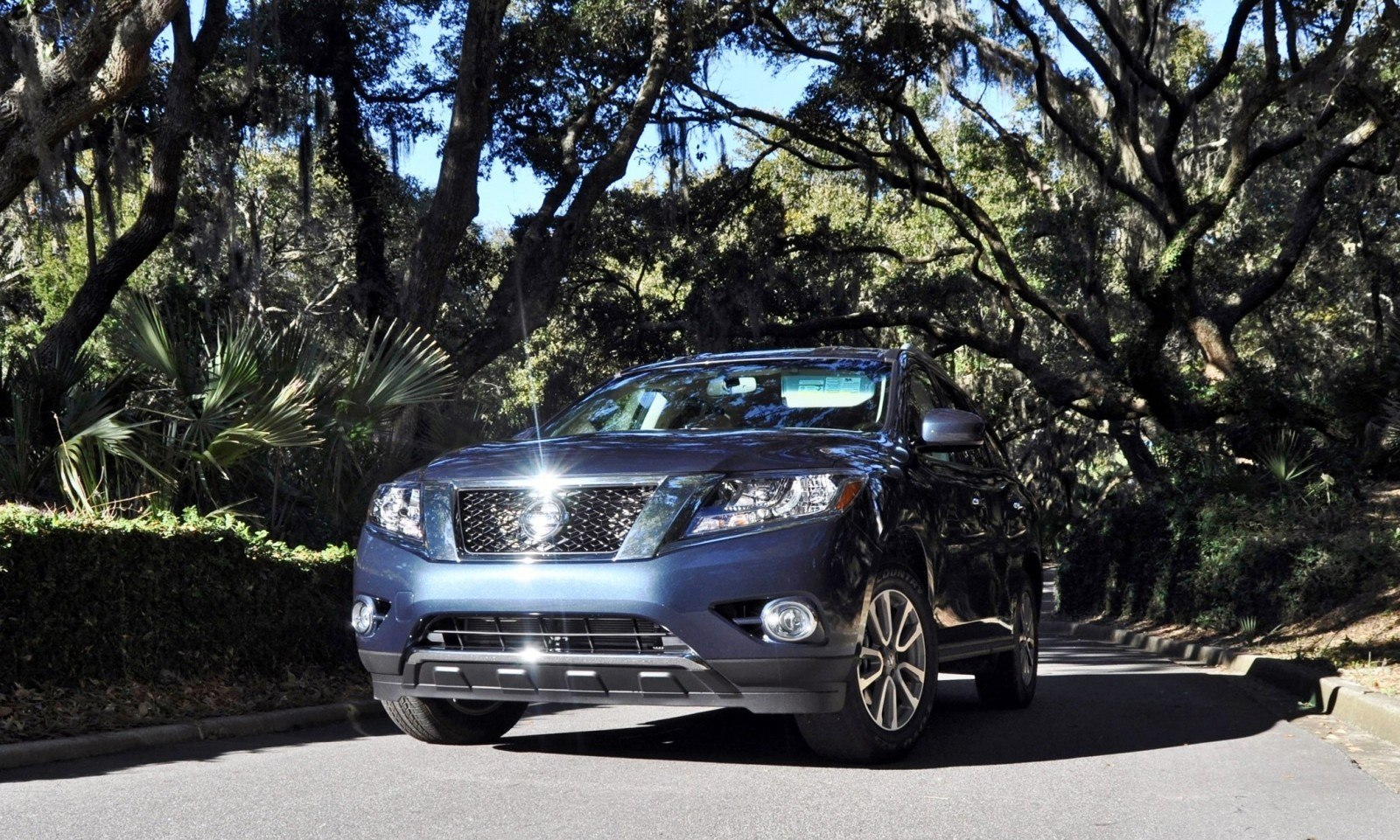 Road Test Review - 2015 Nissan Pathfinder SV 4WD 161