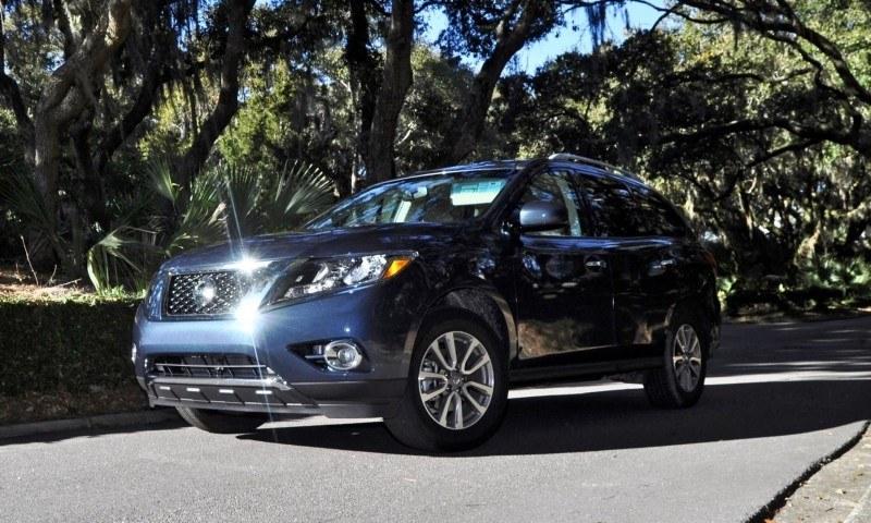 Road Test Review - 2015 Nissan Pathfinder SV 4WD 164
