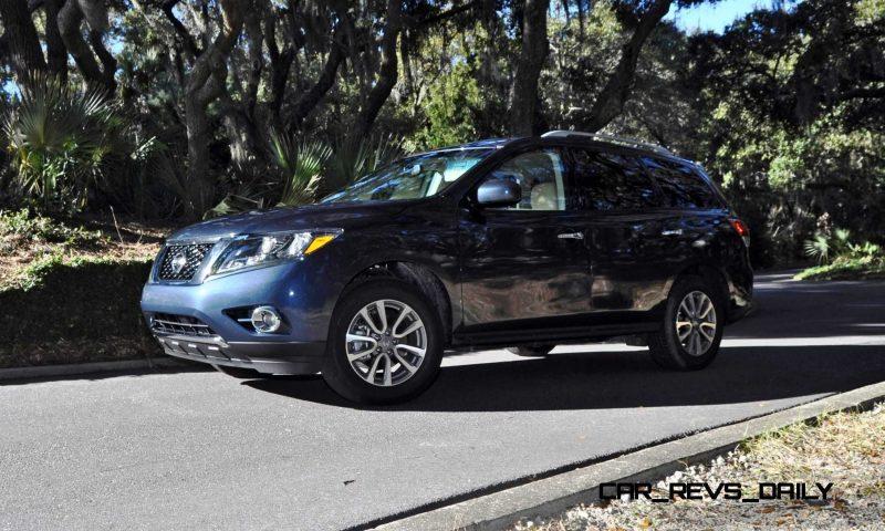 Road Test Review - 2015 Nissan Pathfinder SV 4WD 166