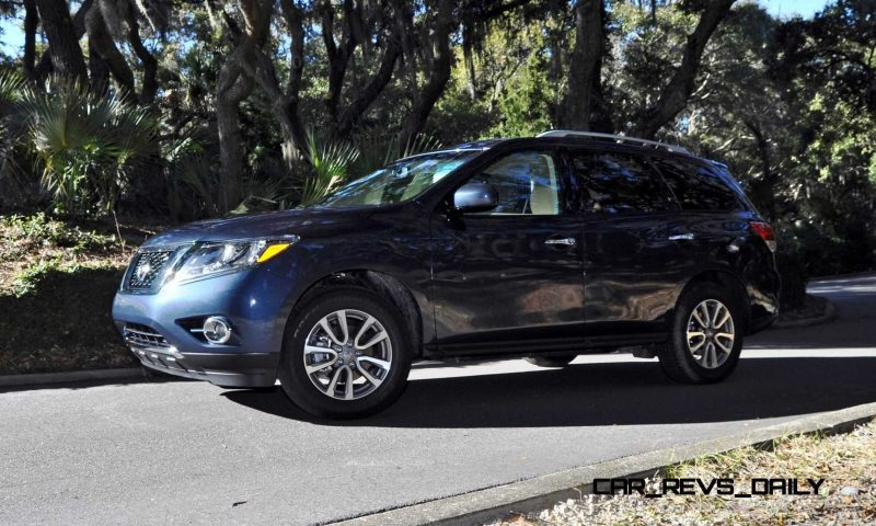 Road Test Review - 2015 Nissan Pathfinder SV 4WD 167
