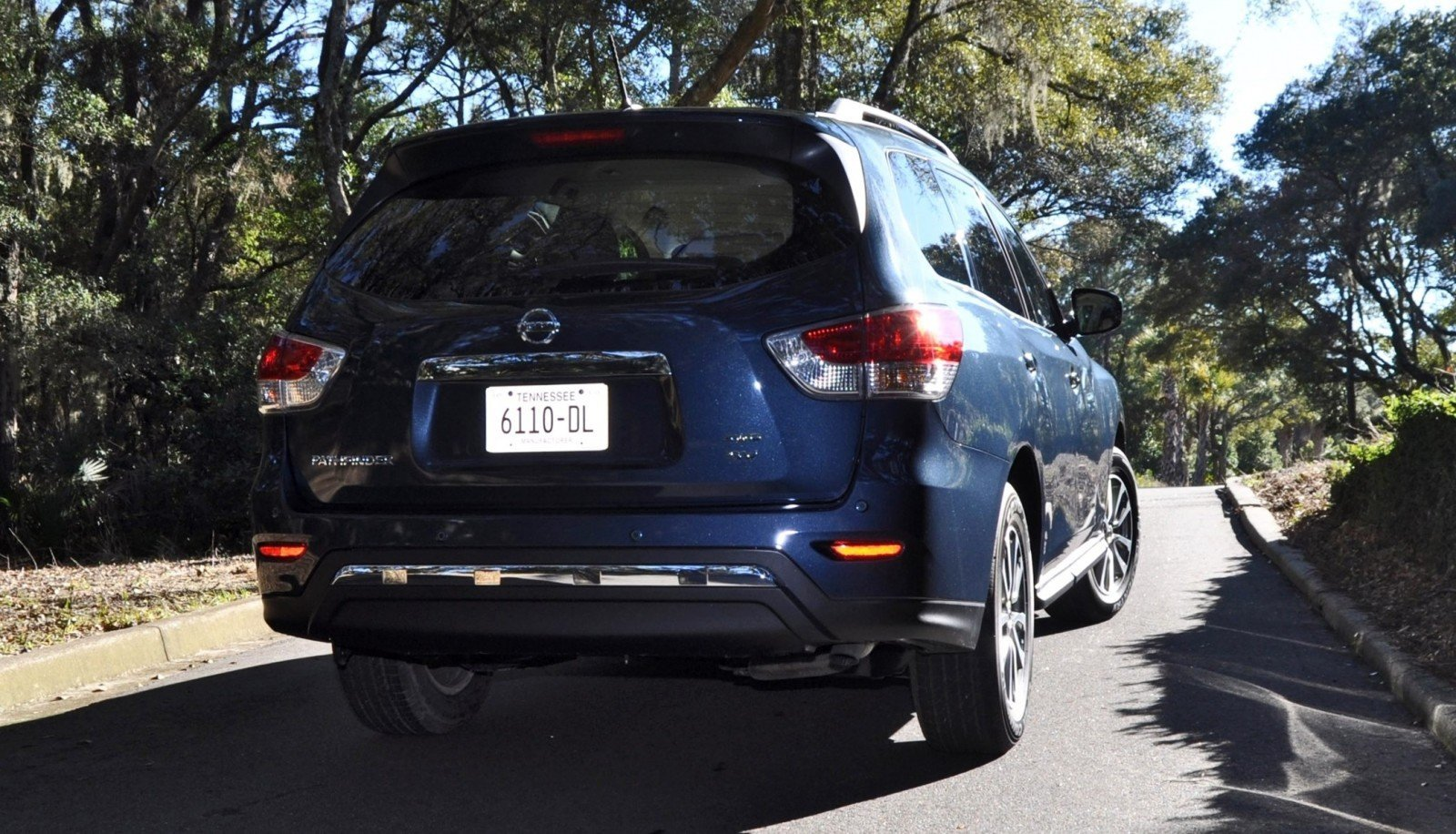 Road Test Review - 2015 Nissan Pathfinder SV 4WD 168
