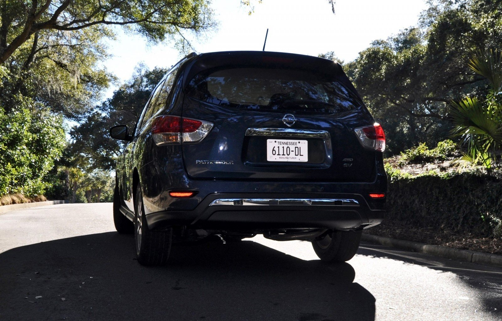 Road Test Review - 2015 Nissan Pathfinder SV 4WD 169
