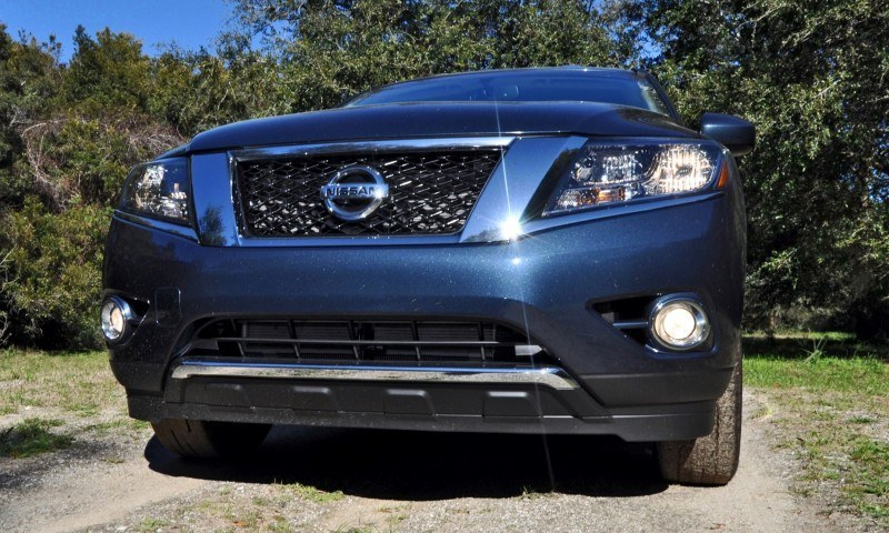 Road Test Review - 2015 Nissan Pathfinder SV 4WD 21