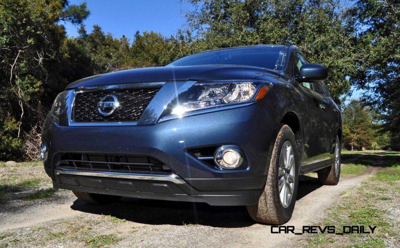 Road Test Review - 2015 Nissan Pathfinder SV 4WD 22