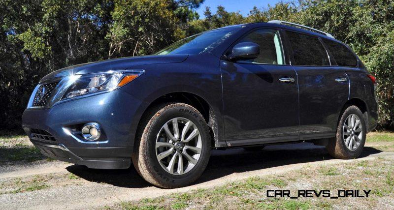 Road Test Review - 2015 Nissan Pathfinder SV 4WD 24