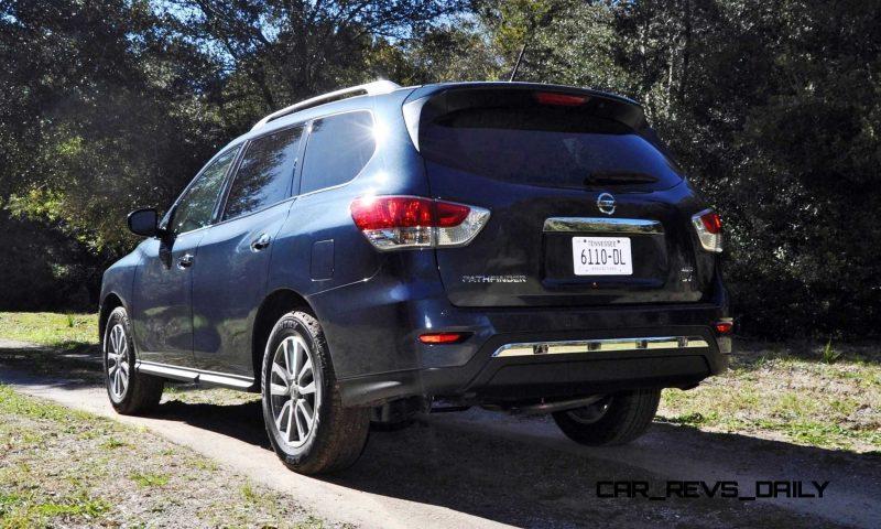 Road Test Review - 2015 Nissan Pathfinder SV 4WD 35