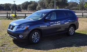 Road Test Review - 2015 Nissan Pathfinder SV 4WD 4