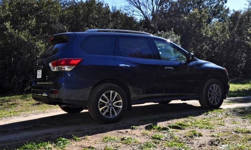 Road Test Review - 2015 Nissan Pathfinder SV 4WD 43