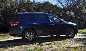 Road Test Review - 2015 Nissan Pathfinder SV 4WD 45