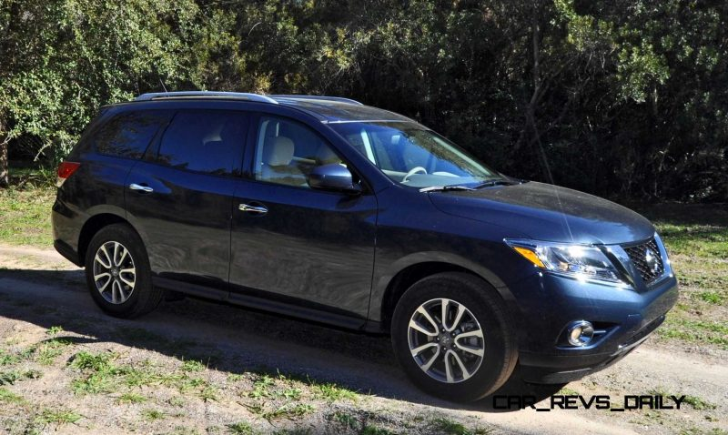 Road Test Review - 2015 Nissan Pathfinder SV 4WD 50