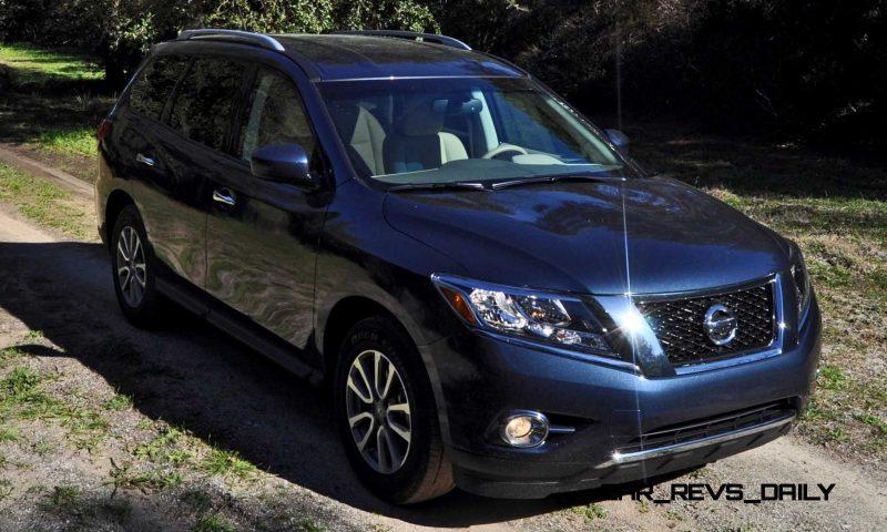 Road Test Review - 2015 Nissan Pathfinder SV 4WD 52