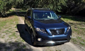 Road Test Review - 2015 Nissan Pathfinder SV 4WD 55