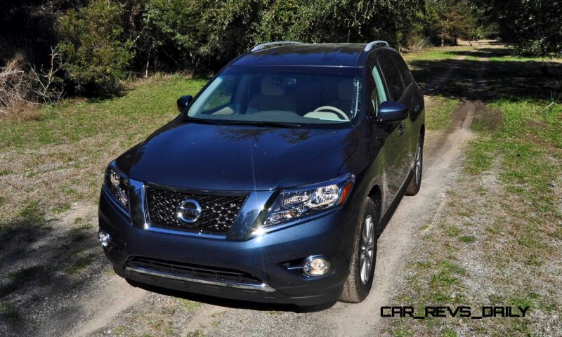 Road Test Review - 2015 Nissan Pathfinder SV 4WD 62
