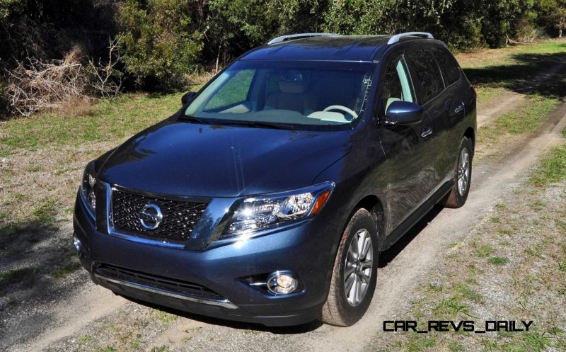 Road Test Review - 2015 Nissan Pathfinder SV 4WD 63