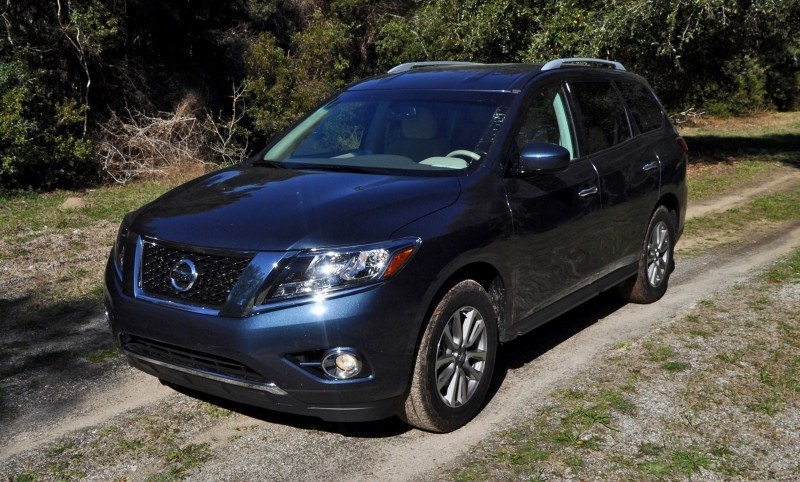 Road Test Review - 2015 Nissan Pathfinder SV 4WD 64