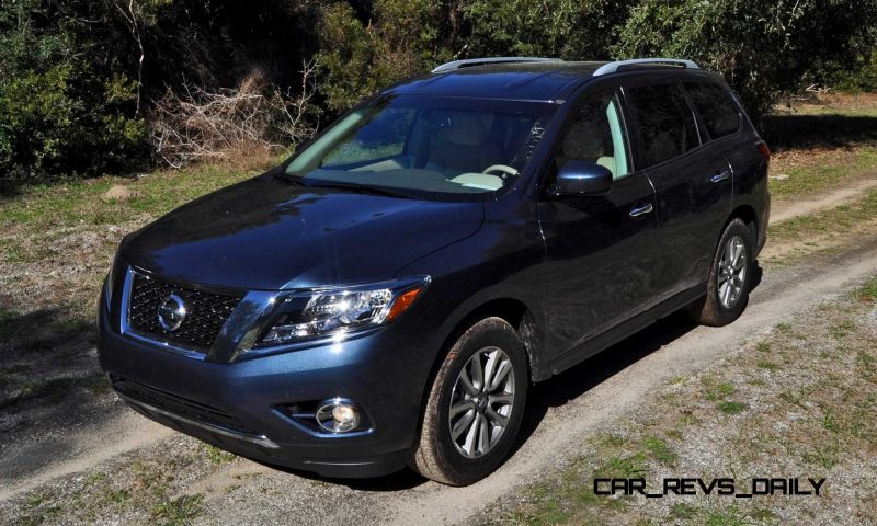 Road Test Review - 2015 Nissan Pathfinder SV 4WD 66