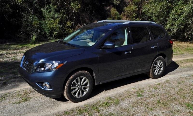 Road Test Review - 2015 Nissan Pathfinder SV 4WD 67