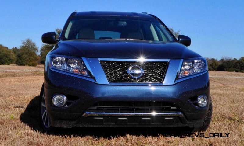 Road Test Review - 2015 Nissan Pathfinder SV 4WD 71