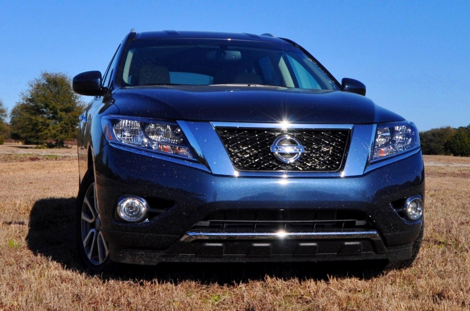 Road Test Review - 2015 Nissan Pathfinder SV 4WD 72