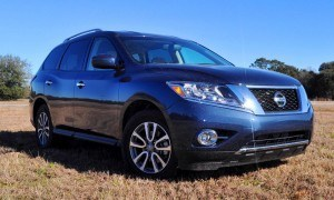 Road Test Review - 2015 Nissan Pathfinder SV 4WD 76