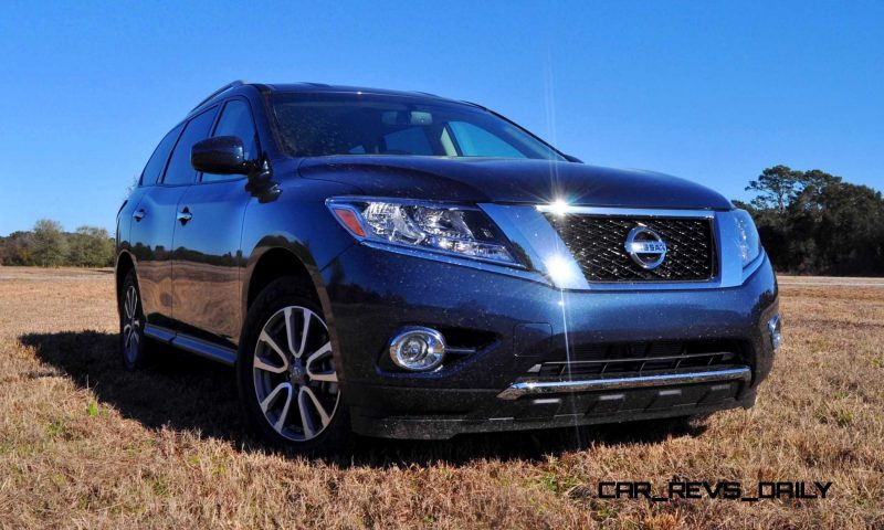 Road Test Review - 2015 Nissan Pathfinder SV 4WD 77