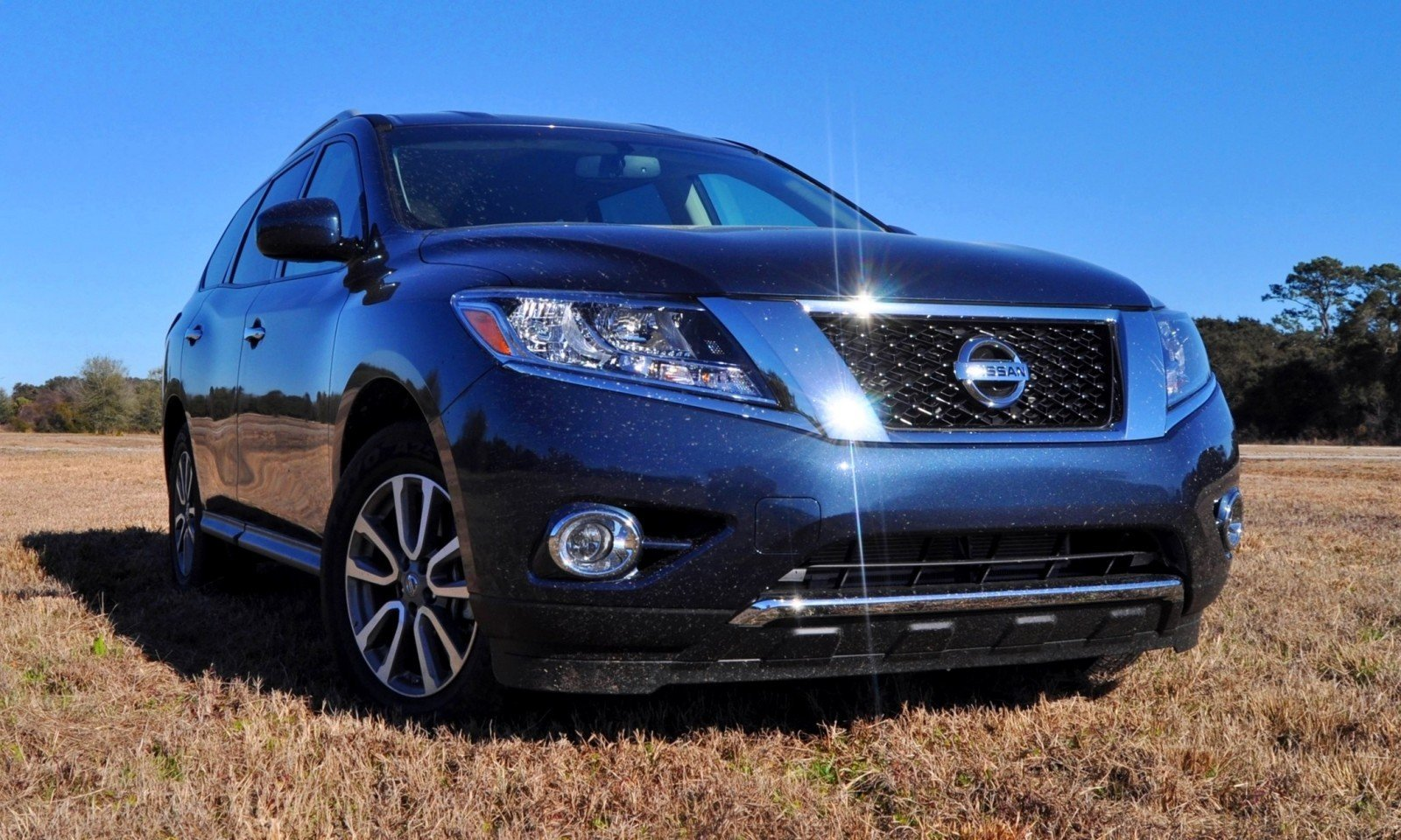 Road Test Review - 2015 Nissan Pathfinder SV 4WD 78