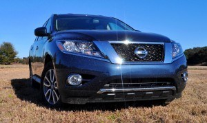 Road Test Review - 2015 Nissan Pathfinder SV 4WD 79