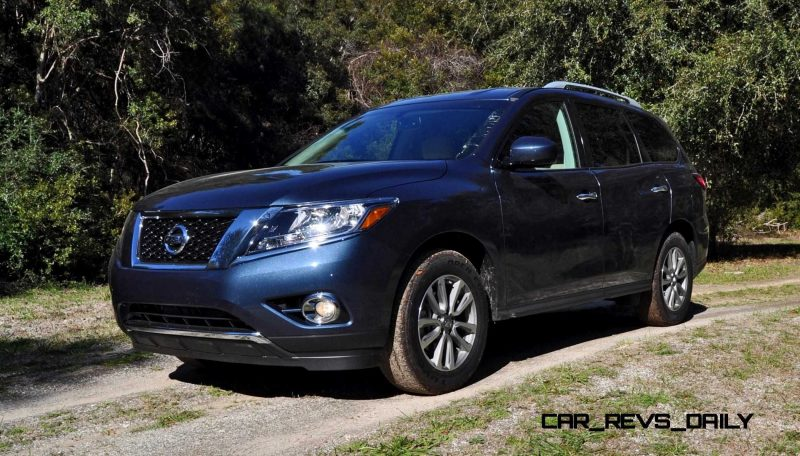 Road Test Review - 2015 Nissan Pathfinder SV 4WD 8