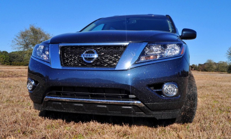 Road Test Review - 2015 Nissan Pathfinder SV 4WD 84