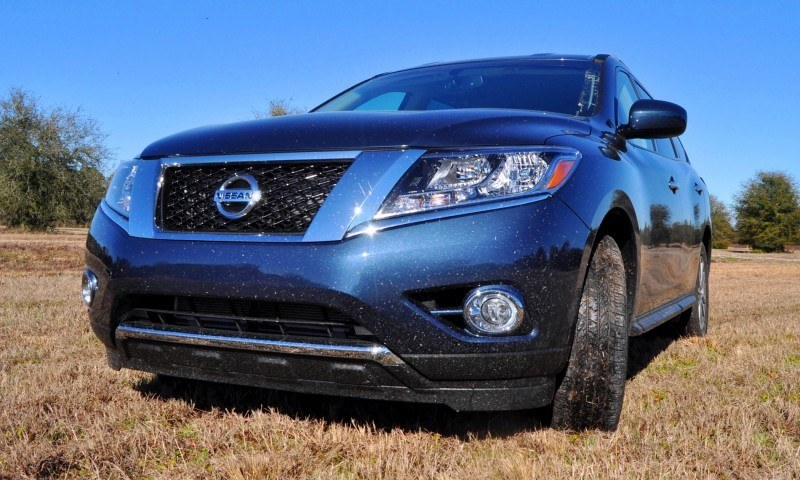 Road Test Review - 2015 Nissan Pathfinder SV 4WD 85