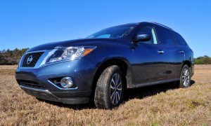 Road Test Review - 2015 Nissan Pathfinder SV 4WD 87