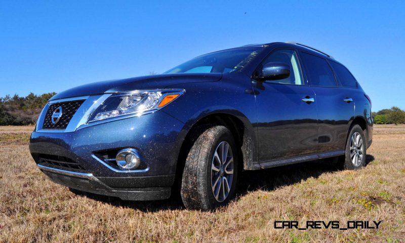 Road Test Review - 2015 Nissan Pathfinder SV 4WD 87
