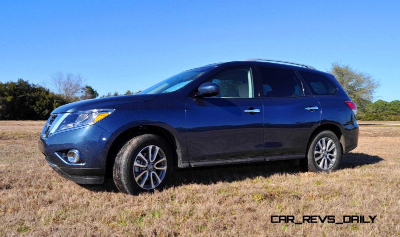 Road Test Review - 2015 Nissan Pathfinder SV 4WD 89