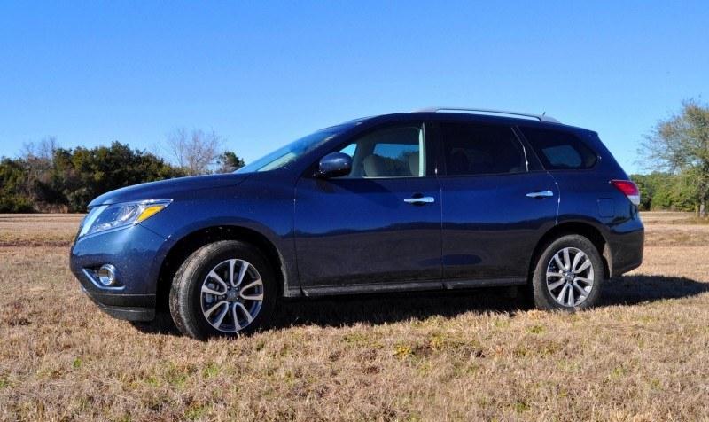 Road Test Review - 2015 Nissan Pathfinder SV 4WD 90