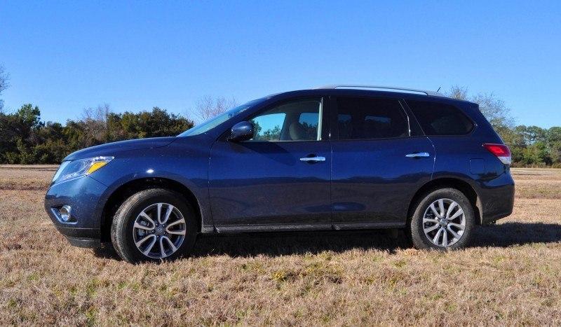 Road Test Review - 2015 Nissan Pathfinder SV 4WD 91