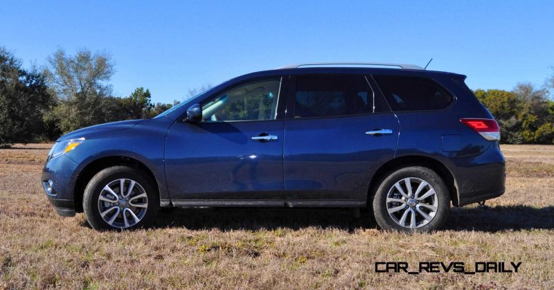 Road Test Review - 2015 Nissan Pathfinder SV 4WD 93