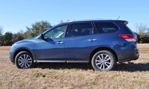Road Test Review - 2015 Nissan Pathfinder SV 4WD 95